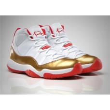 Jordans 11 Ray Allen Two Rings Championship PE Shoes