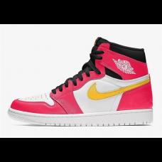 Air Jordan 1 High Light Fusion Red Shoes