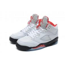 Air Jordans 5 Retro Fire Red 2013 Shoes