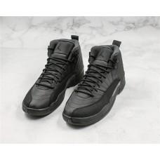 Jordan 12 Retro Winterized Black Shoes