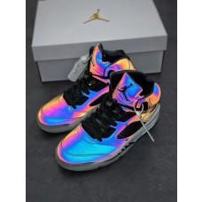 Jordans 5 Oil Grey Shoes