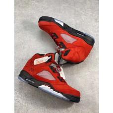 Jordans 5 Retro Trophy Room University Red Shoes