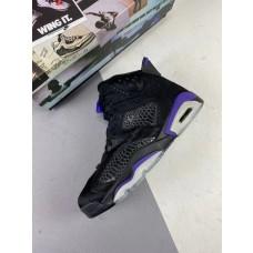Jordans 6 PRM Cow Fur Social Status Black Cat Shoes