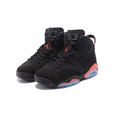Jordans 6 Shoes Retro Infrared Black