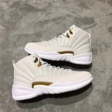 Jordans 12 OVO White Shoes