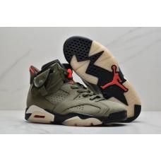 Air Jordans 6 Retro Cactus Jack Travis Scott Shoes